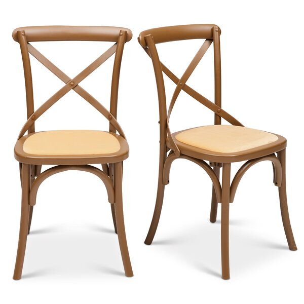 Gesele Upholstered Dining Chair (Set of 2) by Gracie Oaks