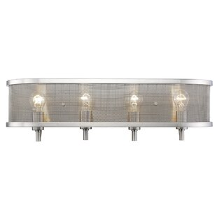 Trend Tensed 4-Light Bath Bar By Laurel Foundry Modern Farmhouse