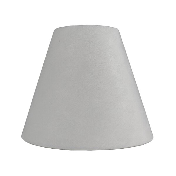 6 Suede Empire Lamp Shade by Ebern Designs