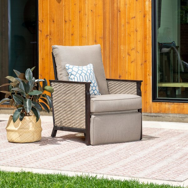 Colton Outdoor Recliner Patio Chair with Sunbrella Cushions by La-Z-Boy Outdoor