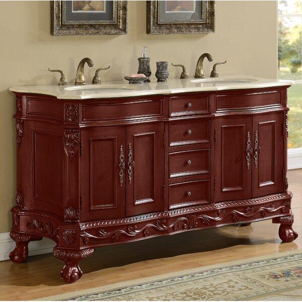 Elrod 60 Double Bathroom Vanity Set