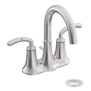 Order Icon Two Handle Centerset High Arc Bathroom Faucet ByMoen