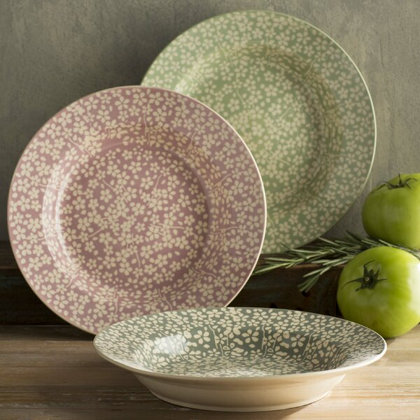 Laidley 10 Round Ceramic Soup Plate 3 Piece Set by Ophelia & Co.
