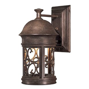 Best Reviews Sage Ridge 1-Light Outdoor Sconce By Great Outdoors by Minka