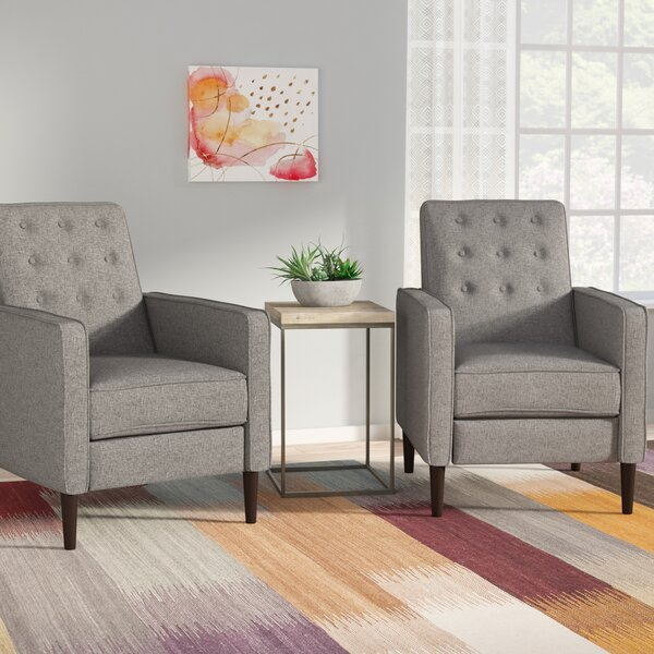 Izaiah Manual Recliner (Set of 2) by Langley Street