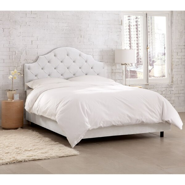 Latanzi Upholstered Standard Bed by Skyline Furniture
