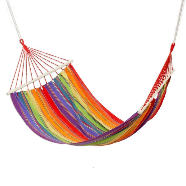 Kazivera Colorful Rest Cotton Tree Hammock by Bay Isle Home