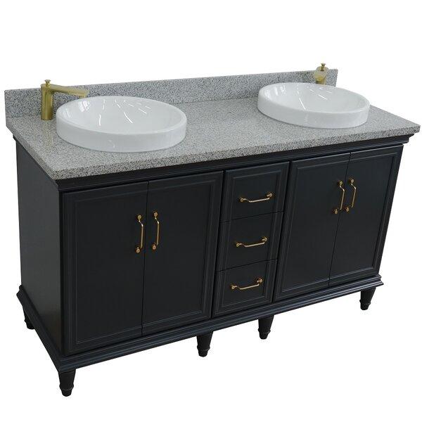 Pompano 61 Double Bathroom Vanity Set