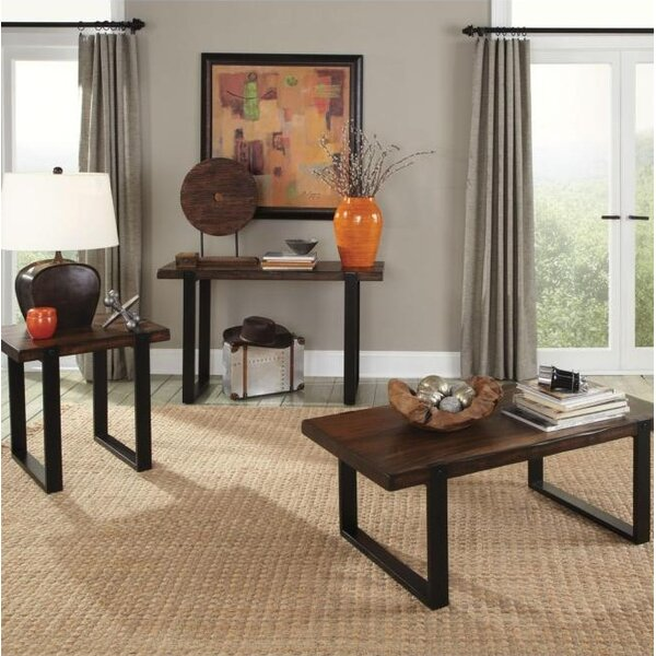 Bluffview 3 Piece Coffee Table Set by Foundry Select