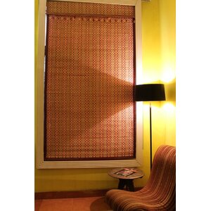 Bamboo Art Roman Shade