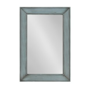 Highland Dunes Knox Wooden Framed Accent Wall Mirror