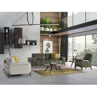 Baumbach 3 Piece Reclining Living Room Set by Corrigan Studio®
