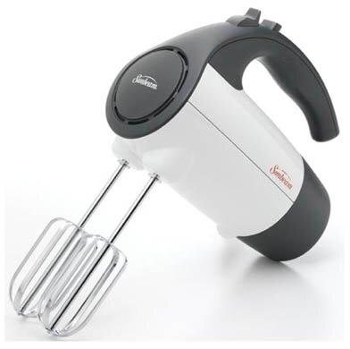 220 Watt 6 Speed Retractable Cord Hand Mixer by Sunbeam