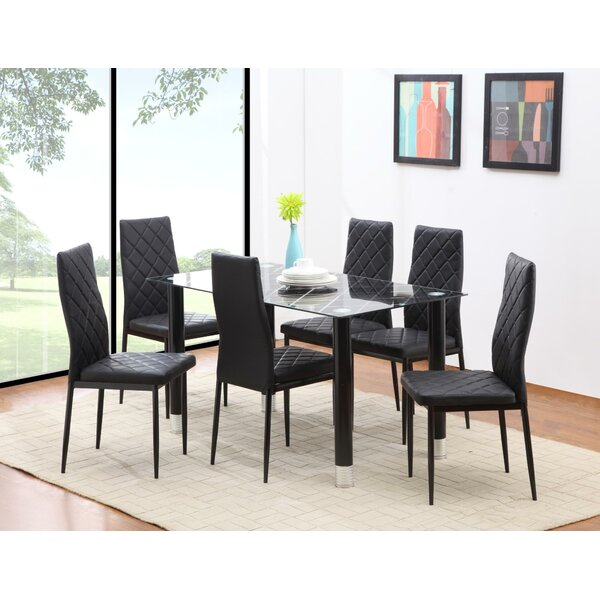 Skillings 7 Piece Dining Set by Orren Ellis Orren Ellis