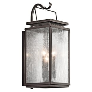 Coupon Conesville 3-Light Outdoor Wall Sconce By Darby Home Co