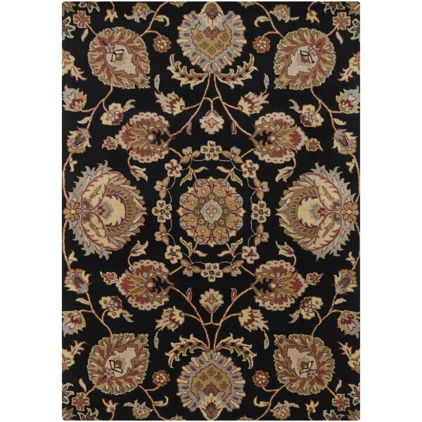 Bartz Black Area Rug by Darby Home Co