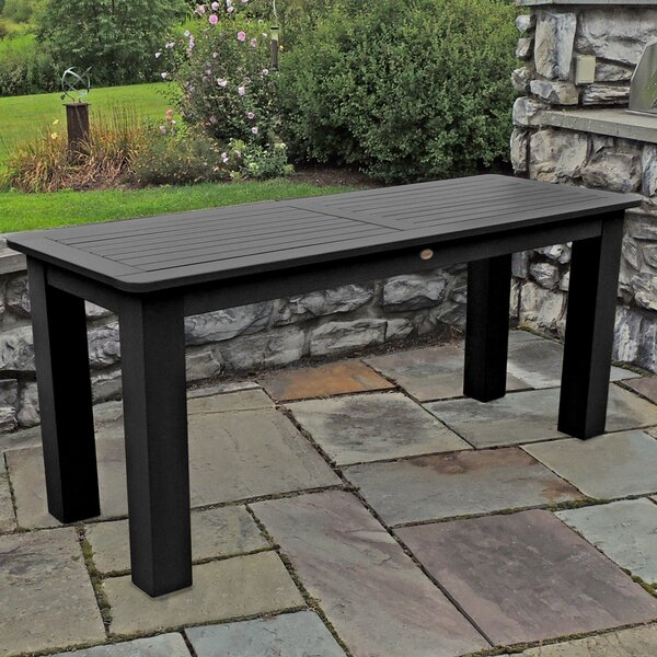 Timperley Plastic Dining Table by Darby Home Co