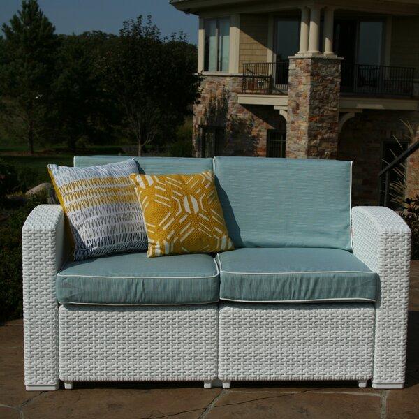 Loggins Loveseat with Cushions by Brayden Studio