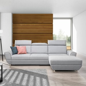 Ecksofa Trofa mit Bettfunktion von Home Loft Co..
