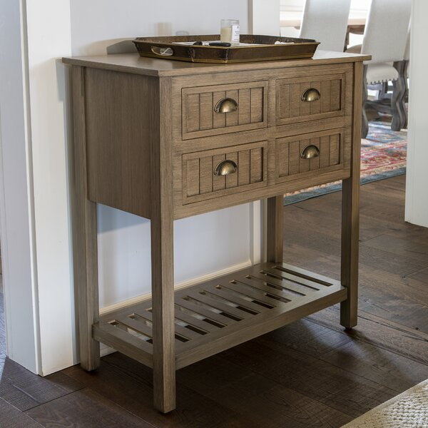 Review Rosas 4 Drawer Console Table