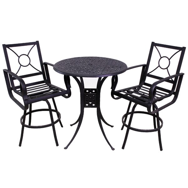 Waynesburg 3 Piece Dining Set by Red Barrel Studio