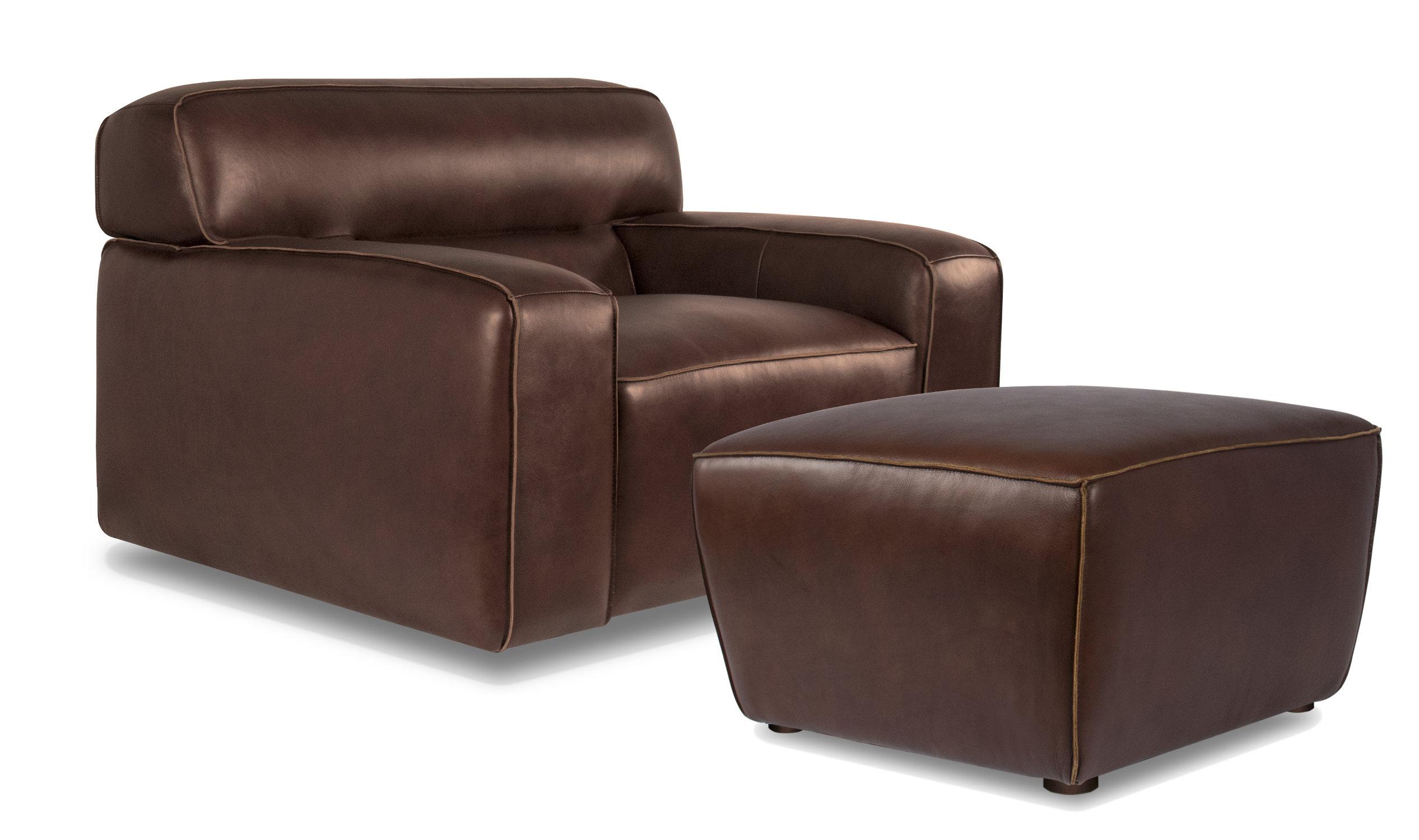 myriam armchair and ottoman