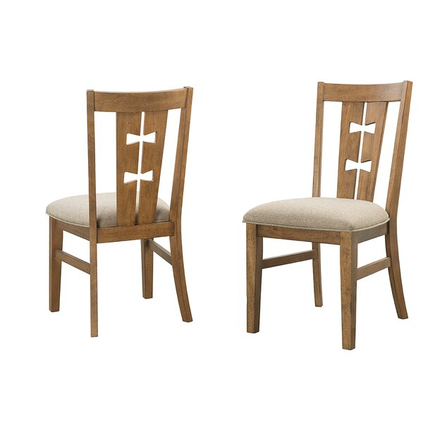 Terwilliger Solid Wood Dining Chair (Set of 2) by Union Rustic Union Rustic