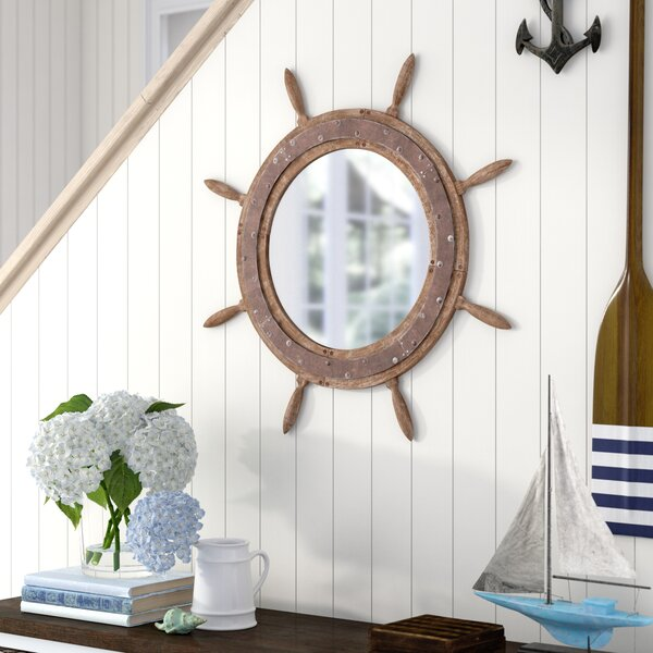Panama City Beach Pool Wall Mirror by Beachcrest Home