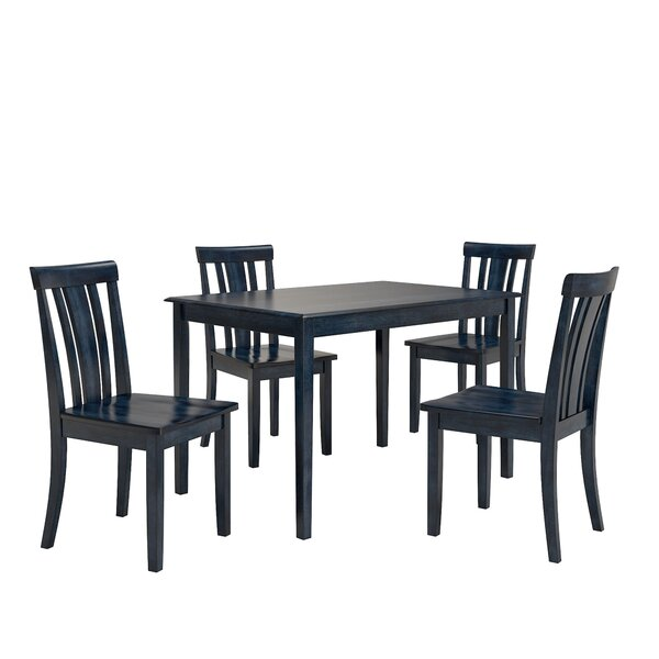 Alverson 5 Piece Dining Set by August Grove