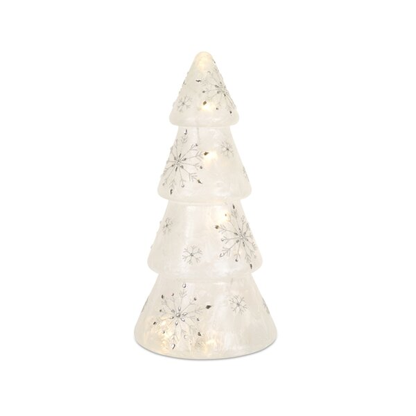Snowflake Glass Tree by The Holiday Aisle