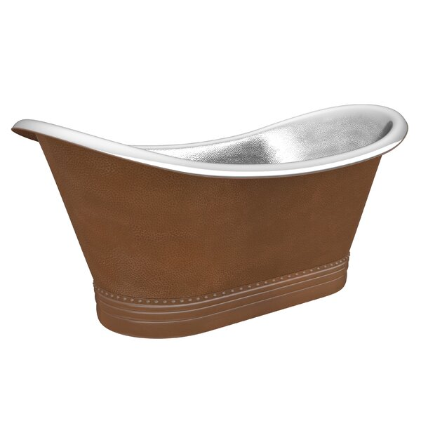 Bali 67 x 30 Freestanding Soaking Bathtub by ANZZI