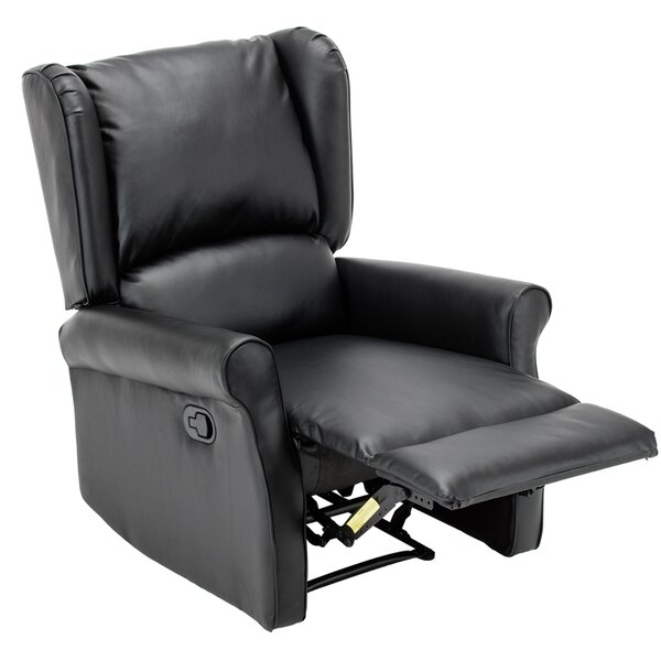 Corson Wingback Roll Arm Glider Manual Recliner by Orren Ellis