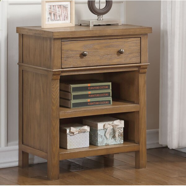 Doyal 1 Drawer Nightstand by Darby Home Co