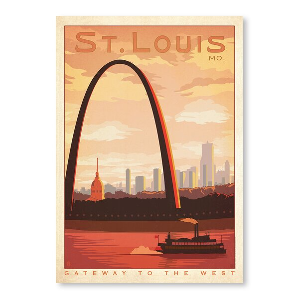 St. Louis Vintage Advertisement by East Urban Home