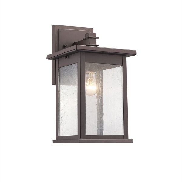 Three Posts Bermuda 1-Light Outdoor Wall Lantern & Reviews | Wayfair