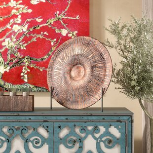 Mirabella Decorative Plate with Stand & Decorative Plates And Stands | Wayfair