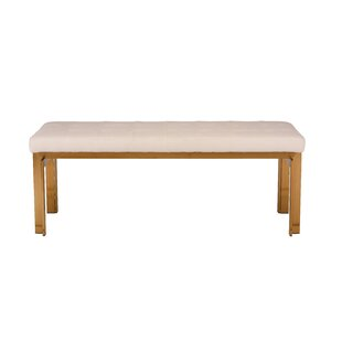 Truc Faux Leather Bench