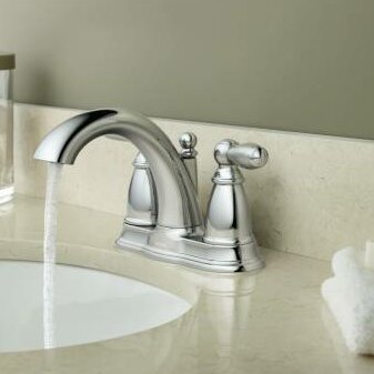 Brantford Centerset Bathroom Faucet by Moen