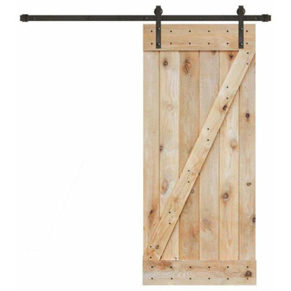 Wood Interior Barn Door by Calhome