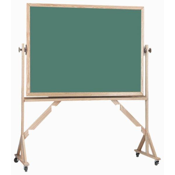 Reversible Free Standing Chalkboard by AARCO