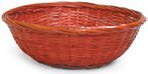 Chesterwood Dyed Bamboo Basket by World Menagerie