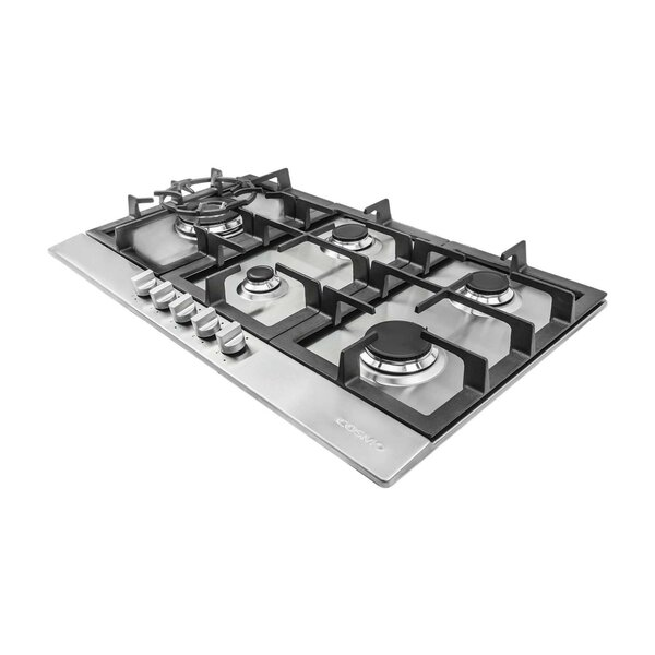 30 Gas Cooktop With 5 Burners By Cosmo.