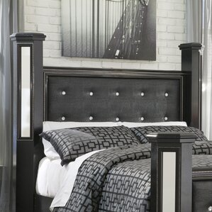 Aquilae Contemporary Wood Upholstered Panel Headboard by Willa Arlo Interiors