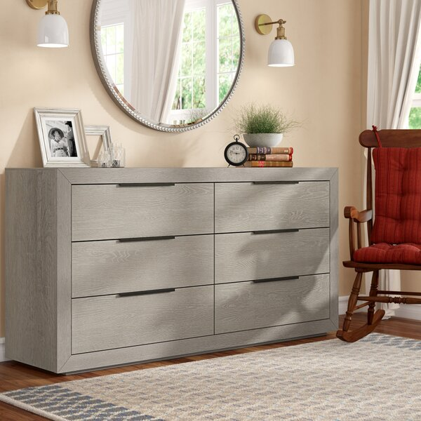 Rexford 6 Drawer Double Dresser by Brayden Studio