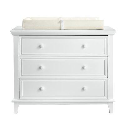 3 Drawer Standard Dresser Color: White by Kolcraft