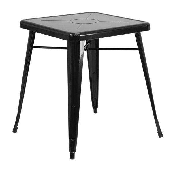 Jesse Square Galvanized Steel Coffee Table by Trent Austin Design
