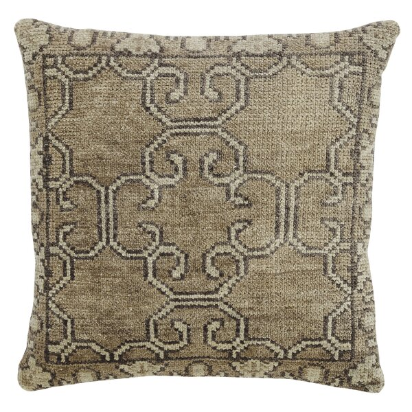 Kyle Wool Throw Pillow by One Allium Way