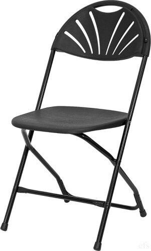 Vinson Fan Back Plastic Folding Chair (Set of 8) by Symple Stuff