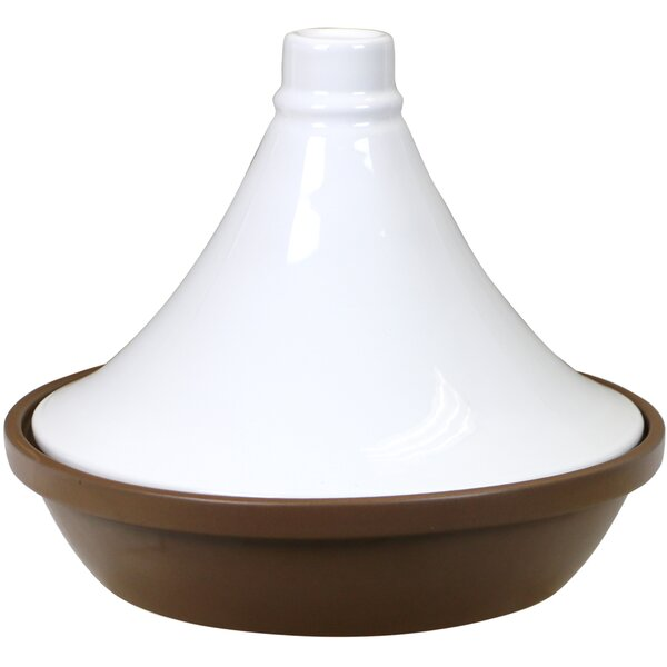 Eurita 2.5 Qt. Flame Safe Porcelain Round Tagine by Reston Lloyd