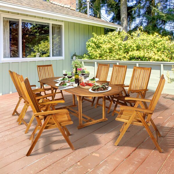 Cosby 9 Piece Dining Set By Millwood Pines